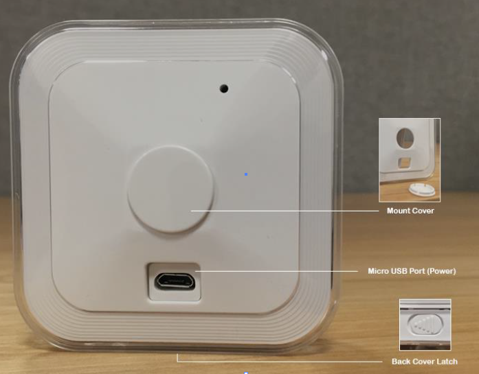 first generation indoor battery cover and latch