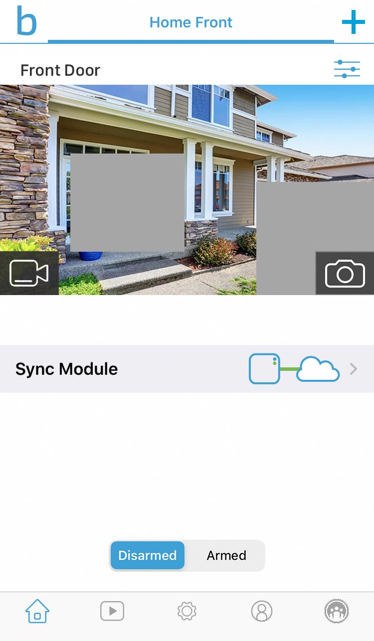 privacy zones are grey in the camera image