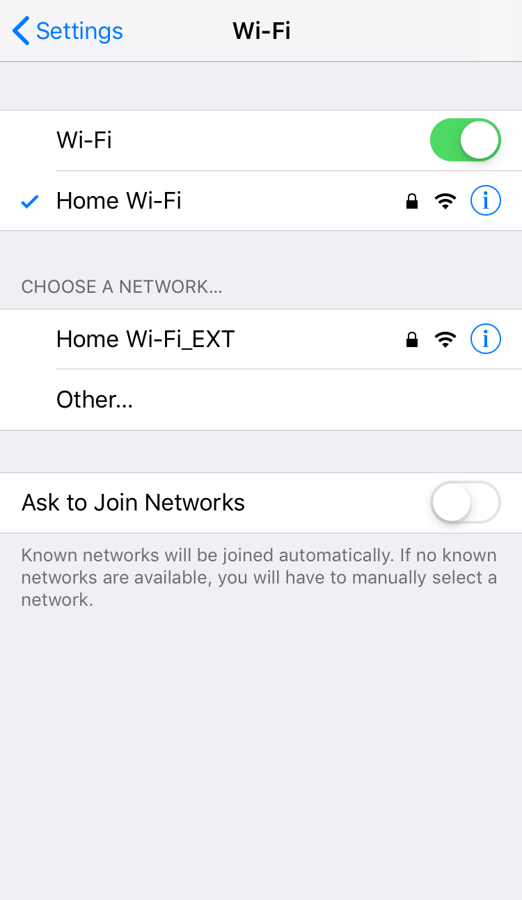 extended Wi-Fi signal
